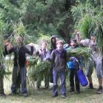 Survival Camp Grass Mats