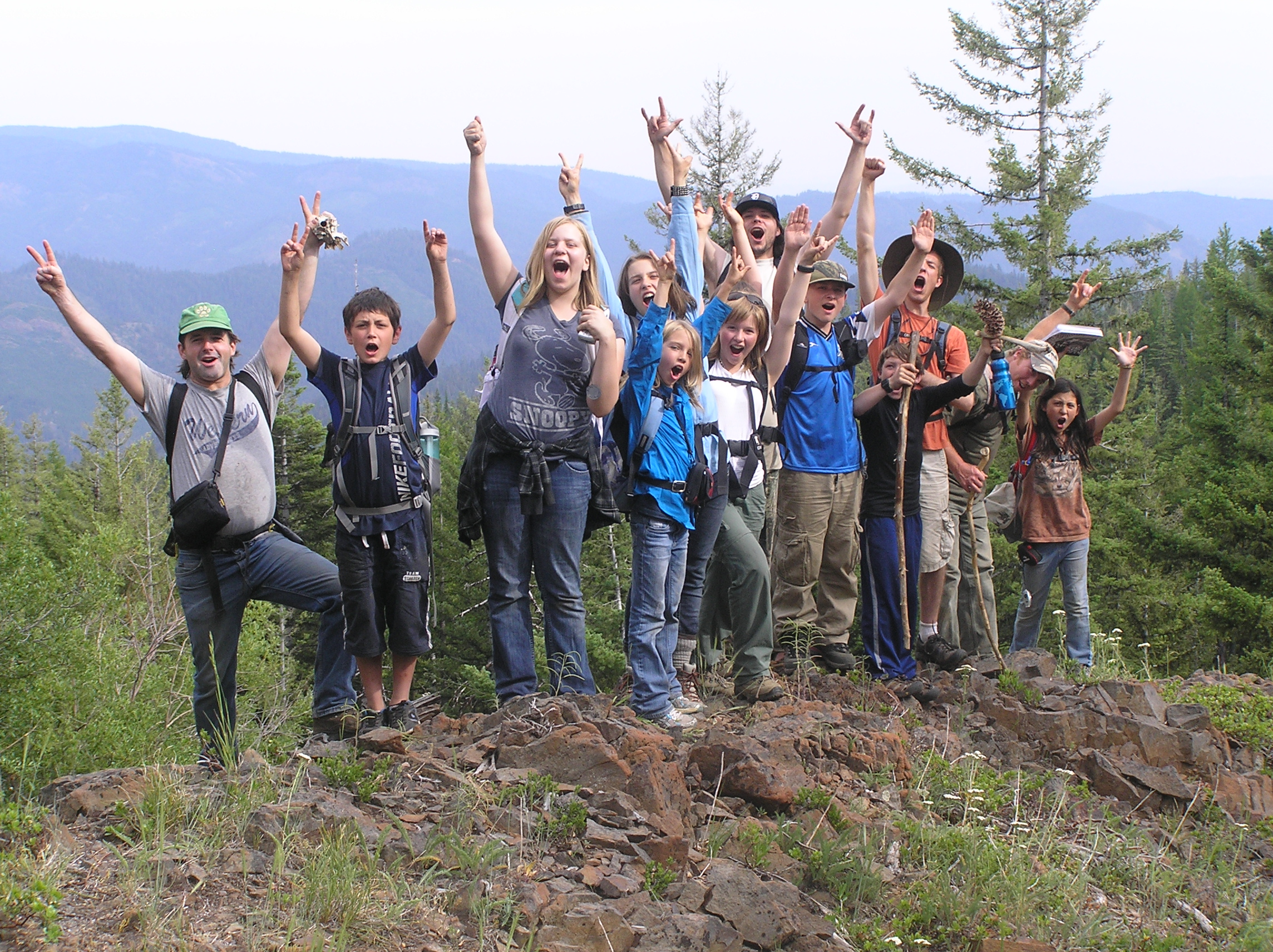 Northwest Nature Guided Hikes with the Wolf College