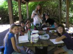 apprentice-rachel-edwards-teaches-McCollum-Park-day-campers-about-herbal-medicine