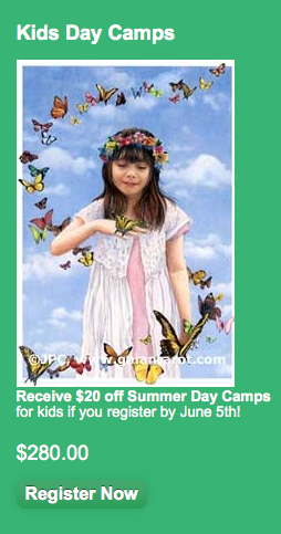 June 5th Day Camp Discount Coupon