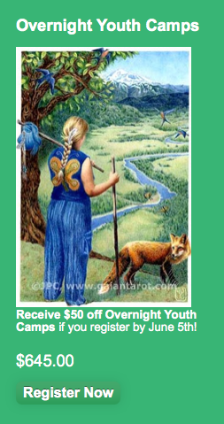 June 5th Overnight Youth Camp Discount Coupon