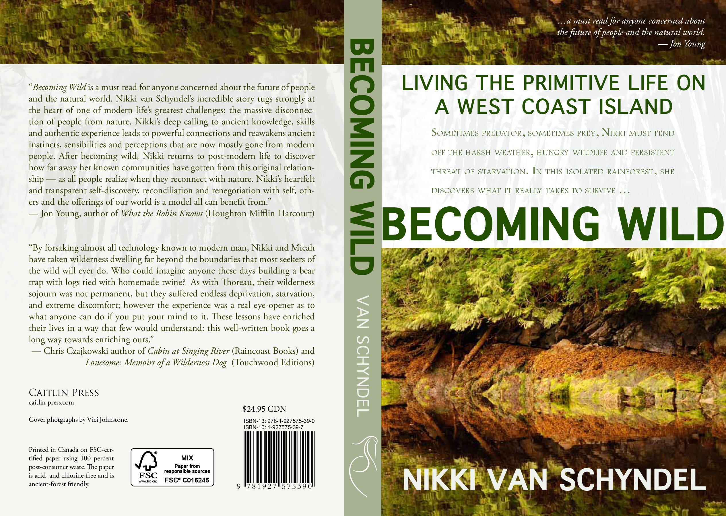 "Nikki van Schyndel ""Becoming Wild"" Book Review"