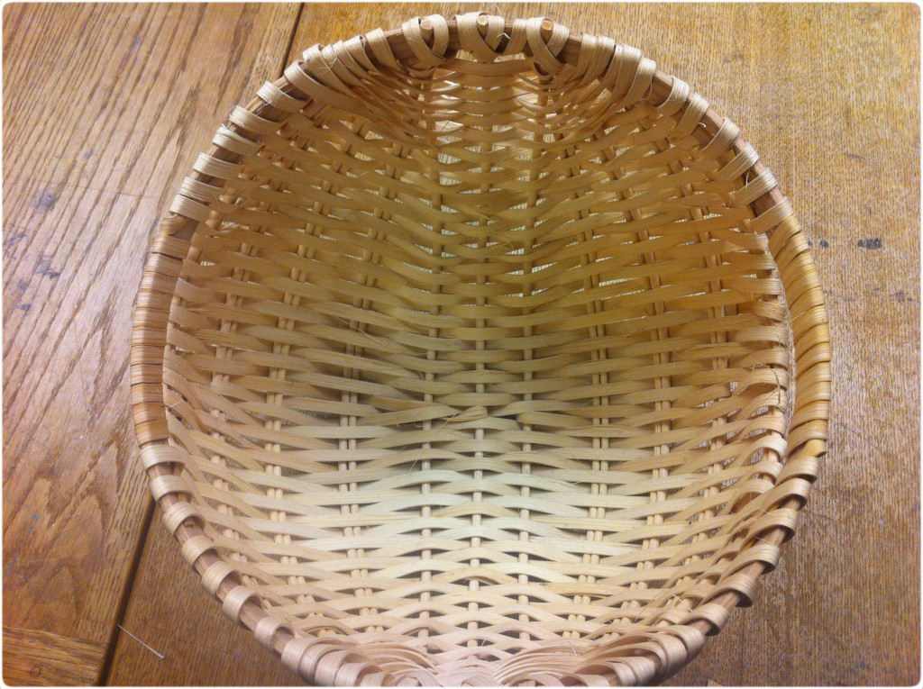 basket finished