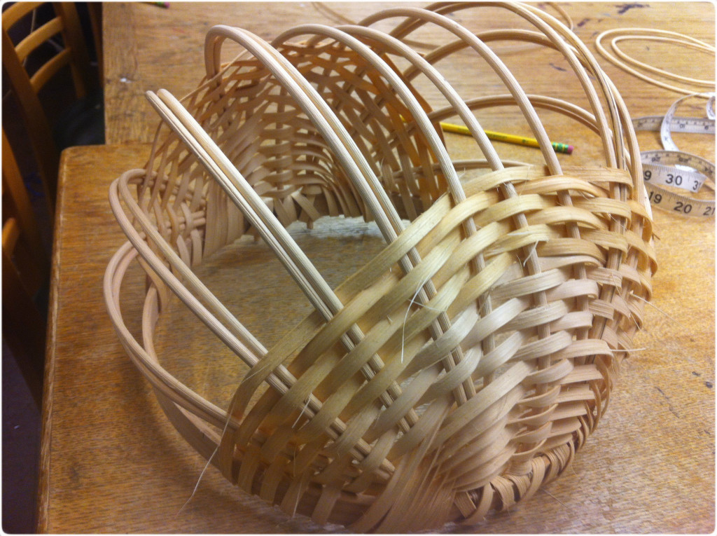 basket weaving sides
