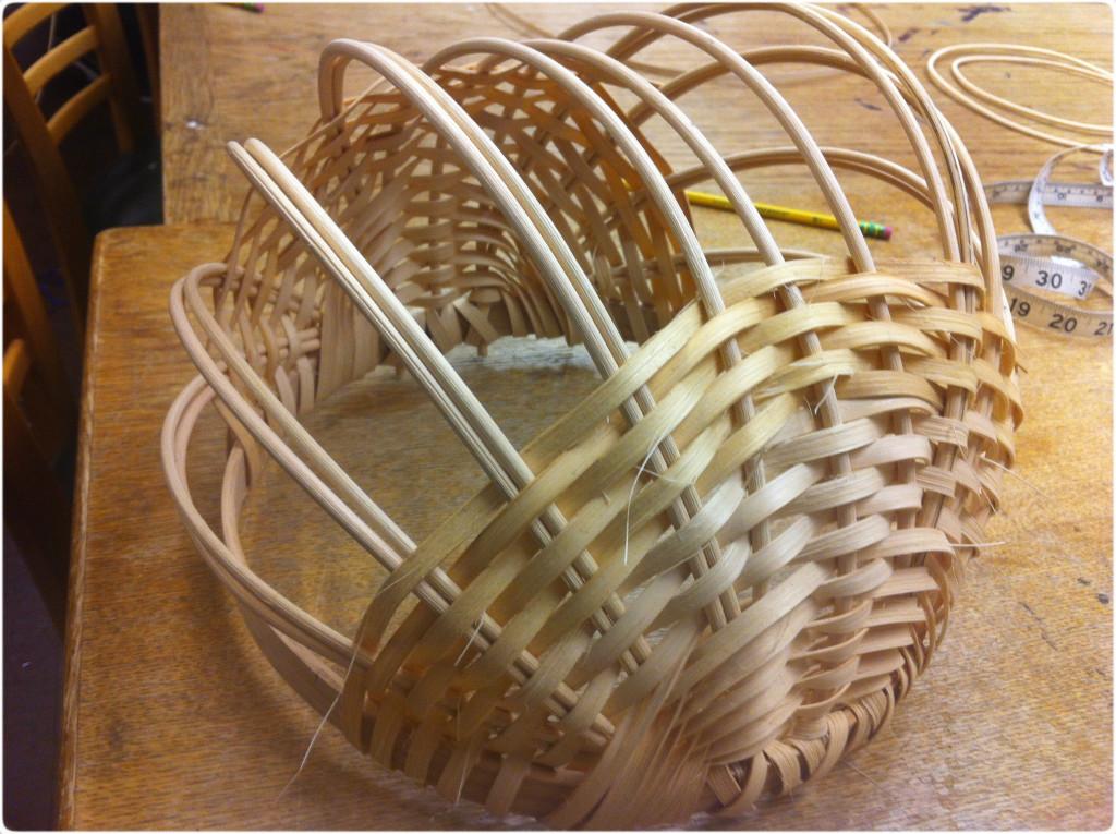 basket weaving sides